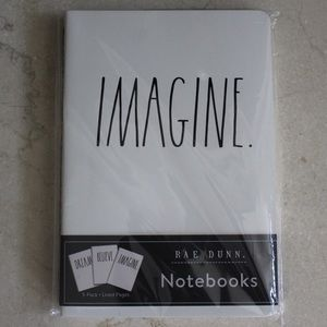 Rae Dunn | 3 Pc Notebook Trio Set